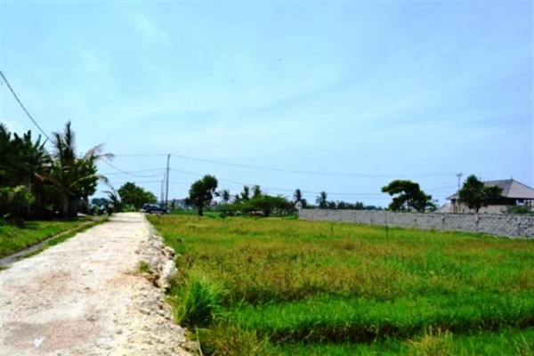 Land for sale in Canggu beautiful view ideal for resort or villa – LCG037