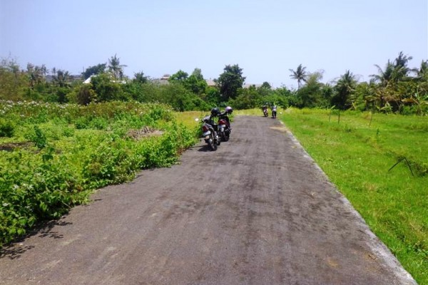 Land for sale in Canggu near to Echo beach with potential rice field view – LCG059