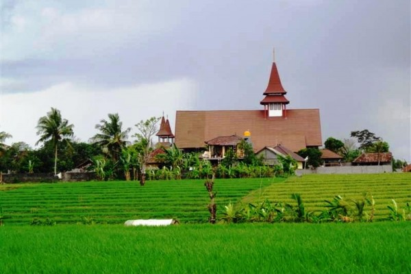 Land for sale in Canggu Bali with natural rice fields view – LCG077