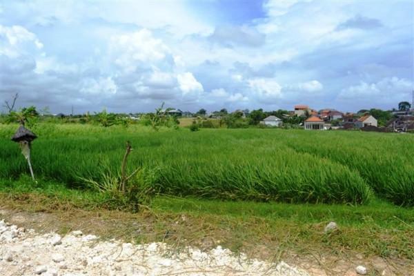 Land for sale in Canggu 1.730 m2 in Canggu Echo Beach Bali
