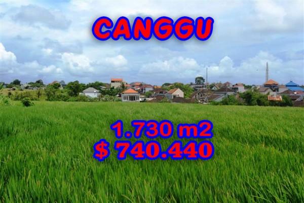 Land in Canggu for sale, Stunning view in Canggu Echo Beach Bali – TJCG095