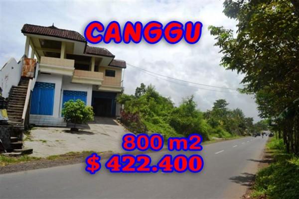 Amazing Property in Bali, Land for sale in Canggu Bali – 800 sqm @ $ 528