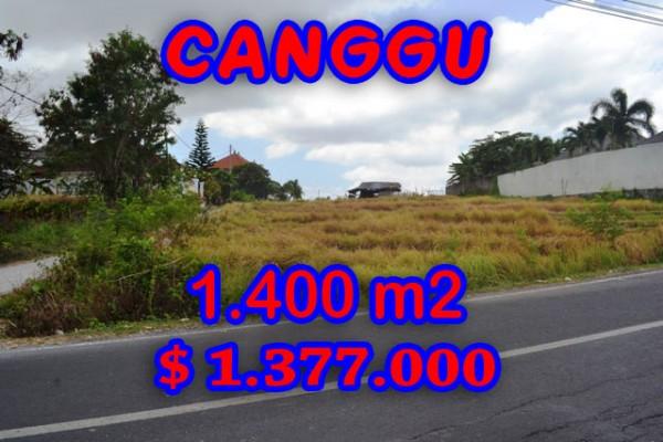 Land for sale in Canggu Bali, Astounding view in Batu Bolong – TJCG123