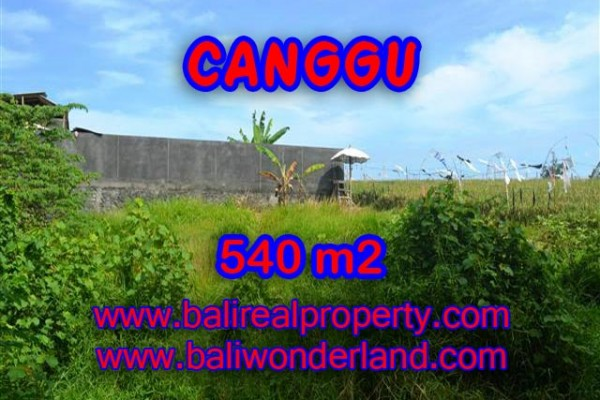 Land for sale in Bali, Fantastic view in Canggu – TJCG131