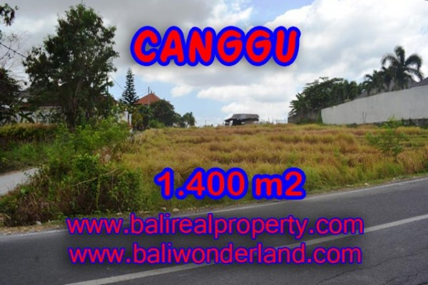 Land for sale in Bali, Fabulous view in Canggu Bali – 1,400 sqm @ $ 983