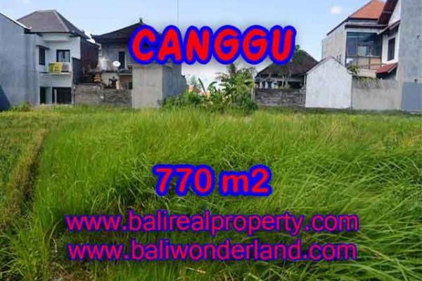 Land in Canggu for sale, Outstanding view in Kerobokan Bali – TJCG148