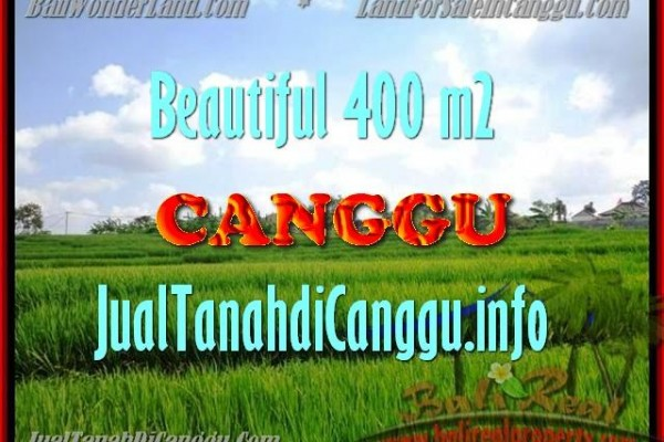 FOR SALE Beautiful PROPERTY LAND IN Canggu Pererenan TJCG156