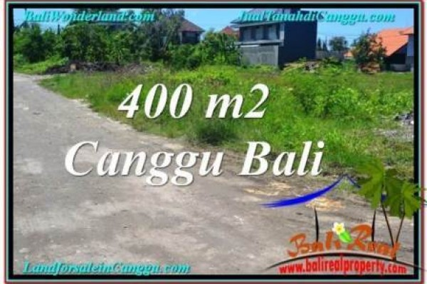 Beautiful PROPERTY 400 m2 LAND FOR SALE IN CANGGU TJCG202