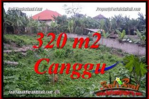 Exotic PROPERTY CANGGU BALI 320 m2 LAND FOR SALE TJCG231
