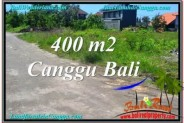 Beautiful PROPERTY 400 m2 LAND SALE IN Canggu Brawa BALI TJCG202