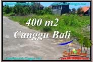 Exotic PROPERTY CANGGU BALI 400 m2 LAND FOR SALE TJCG202