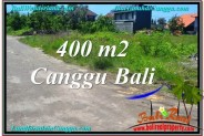 FOR SALE Exotic 400 m2 LAND IN CANGGU TJCG202