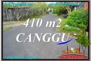 410 m2 LAND SALE IN Canggu Pererenan BALI TJCG216
