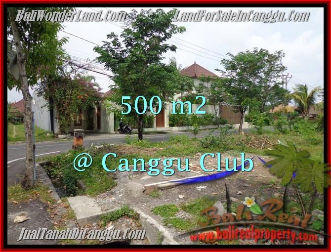 Affordable PROPERTY 500 m2 LAND FOR SALE IN Canggu Brawa TJCG176