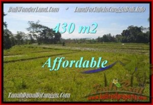 Affordable PROPERTY 430 m2 LAND FOR SALE IN CANGGU TJCG183