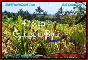 Exotic PROPERTY CANGGU 435 m2 LAND FOR SALE TJCG196