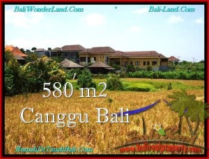 Exotic PROPERTY CANGGU 580 m2 LAND FOR SALE TJCG197