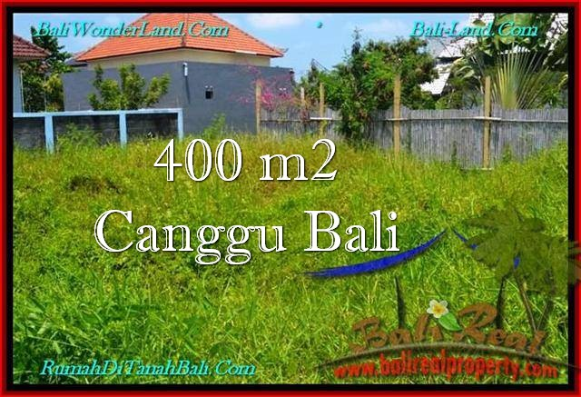 Affordable PROPERTY 400 m2 LAND IN Canggu Pererenan FOR SALE TJCG189