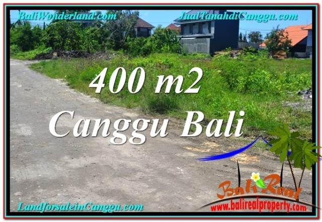 FOR SALE Exotic PROPERTY 400 m2 LAND IN Canggu Brawa BALI TJCG202