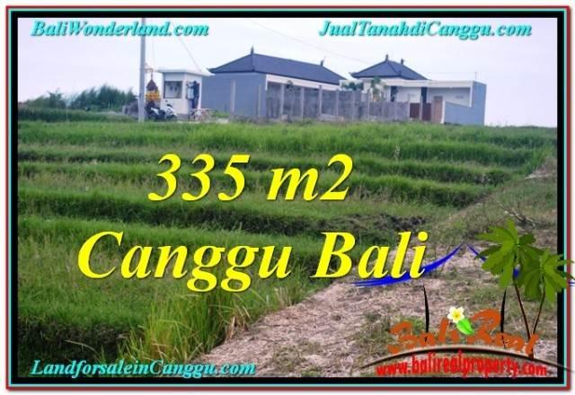 Beautiful CANGGU BALI 335 m2 LAND FOR SALE TJCG204