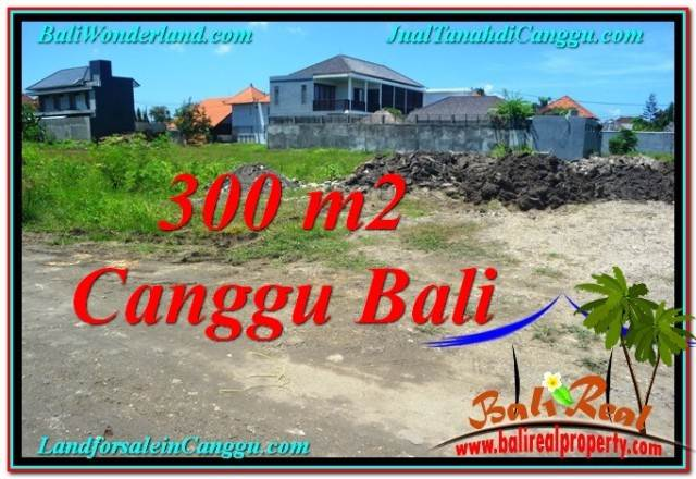 Beautiful Canggu Brawa BALI 300 m2 LAND FOR SALE TJCG203