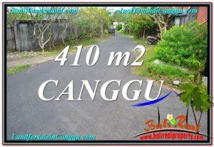 Beautiful 410 m2 LAND IN CANGGU FOR SALE TJCG216
