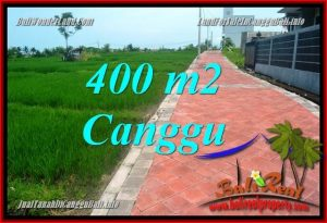FOR SALE Magnificent PROPERTY 400 m2 LAND IN CANGGU TJCG219