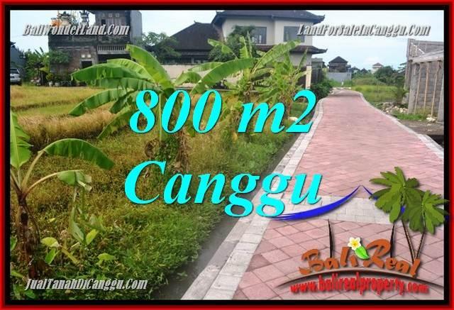800 m2 LAND FOR SALE IN Canggu Brawa TJCG221