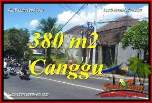 Exotic PROPERTY CANGGU BRAWA BALI LAND FOR SALE TJCG226