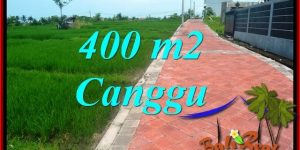 Exotic PROPERTY Canggu Pererenan BALI 400 m2 LAND FOR SALE TJCG219
