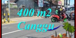 Affordable CANGGU BRAWA BALI 400 m2 LAND FOR SALE TJCG224